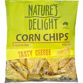 Nature's Delight Corn Chips Tasty Cheese