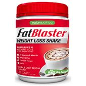 Naturopathica Fatblaser Weight Loss Shake - Double Choc Mocha