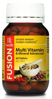 Fusion Health Multi Vitamin and Mineral Advanced