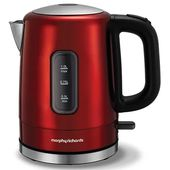 Morphy Richards Red Accents 1L Jug Kettle