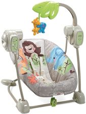 Fisher-Price Precious Planet Earth Space Saver Swing