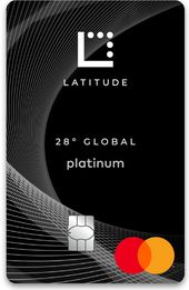 Latitude 28 Degrees Global Platinum Mastercard
