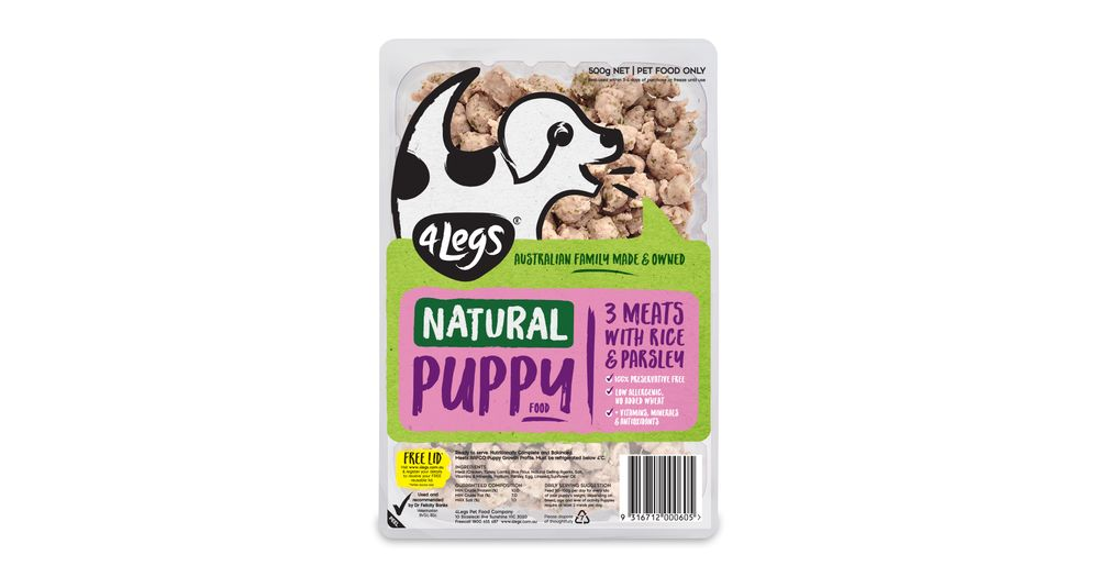 Best Natural Dog Food >> Natural Dog Food Puppy Food 3 Meats With Rice Parsley