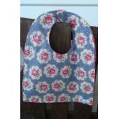 Buttons & Blooms Baby Bib