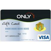 Only 1 Gift Card