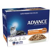 Advance Wet Cat Food in a Pouch - Mature Cat