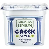 Farmers Union Greek Style Natural Yogurt