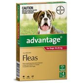 Bayer Advantage for Dogs Red (Large Dog)