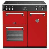 Belling Richmond Deluxe 90cm Induction Range BRD900IRE (Red)
