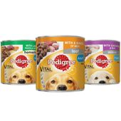 Pedigree Wet Dog Food in a Can Beef Loaf