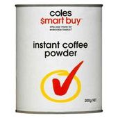 Coles Smart Buy Instant Coffee Powder