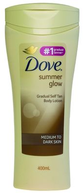Dove Summer Glow Tanning Lotion