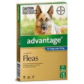Bayer Advantage for Dogs Blue (Extra Large Dog)